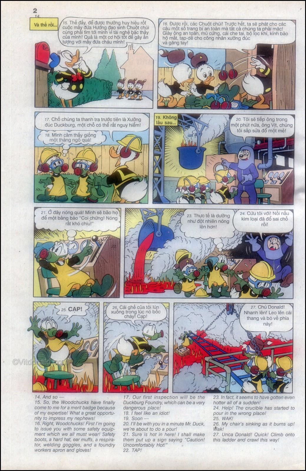Donald và bạn hữu chap 82 - Trang 6