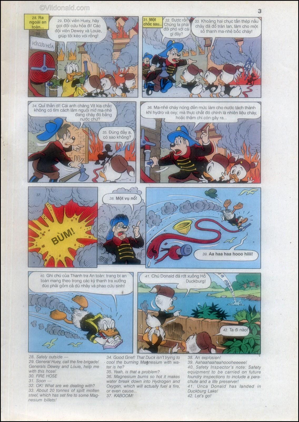 Donald và bạn hữu chap 82 - Trang 7