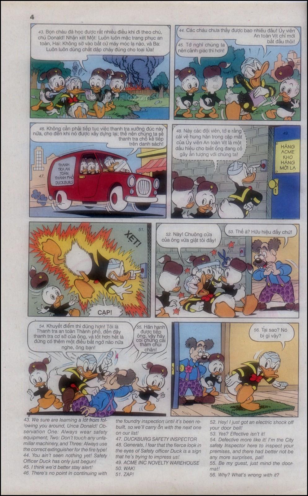 Donald và bạn hữu chap 82 - Trang 8