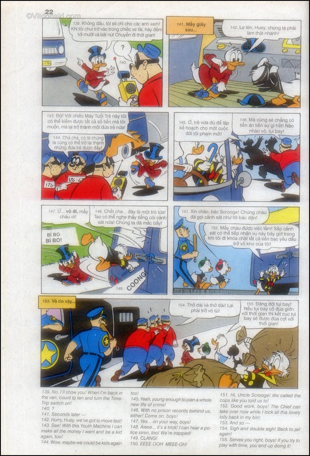 Donald và bạn hữu chap 82 - Trang 26