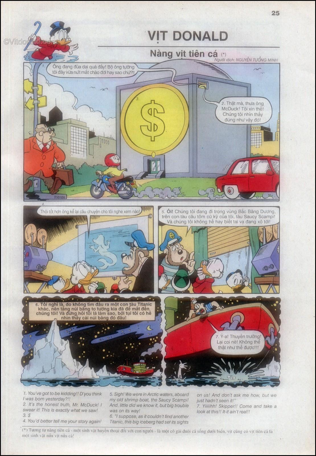 Donald và bạn hữu chap 82 - Trang 27