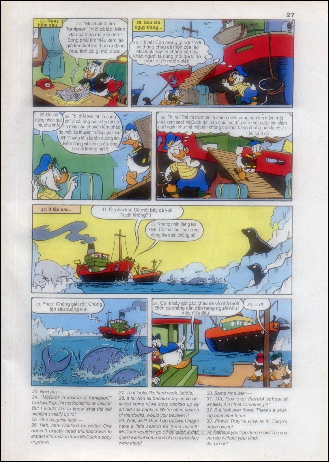 Donald và bạn hữu chap 82 - Trang 29
