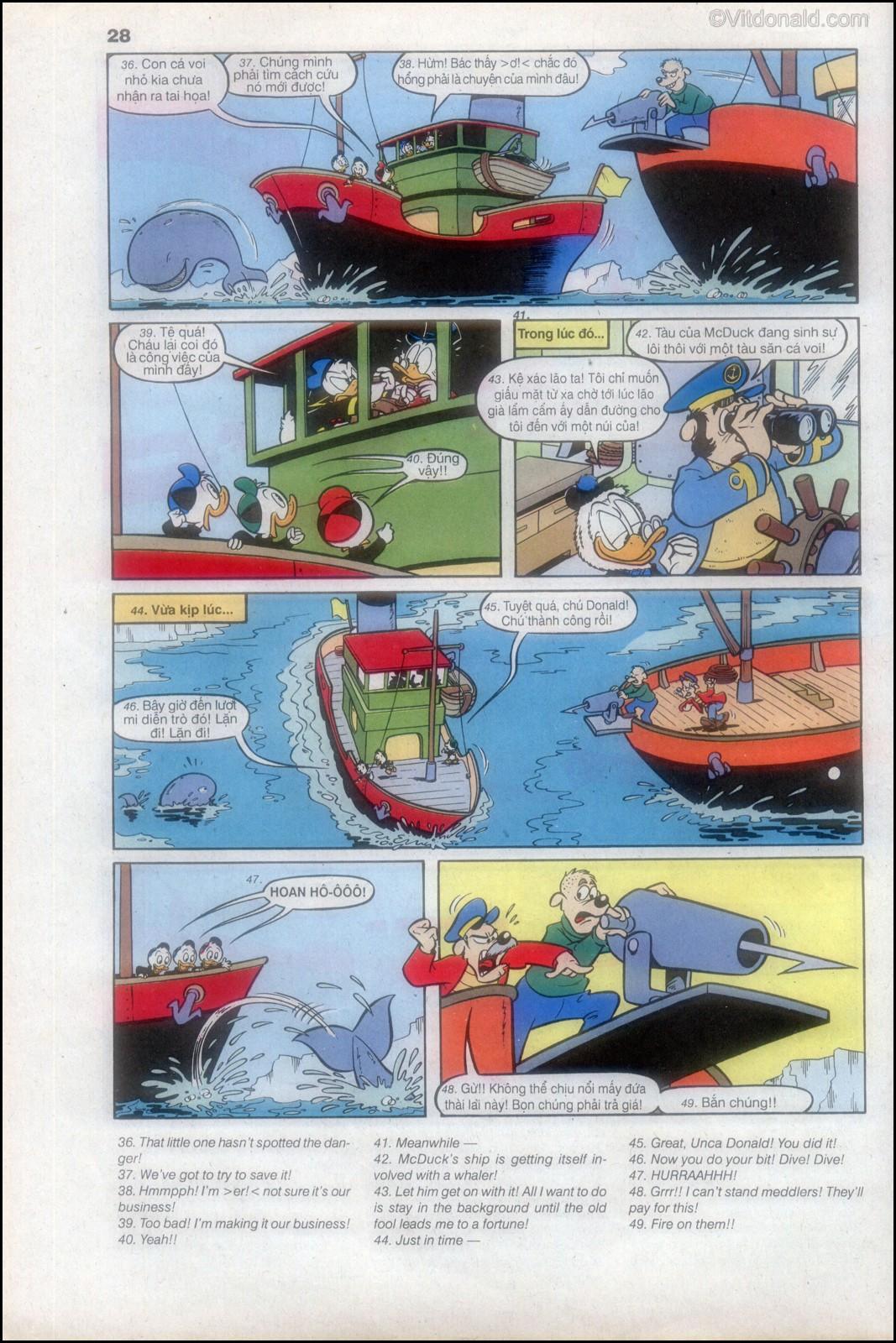Donald và bạn hữu chap 82 - Trang 30