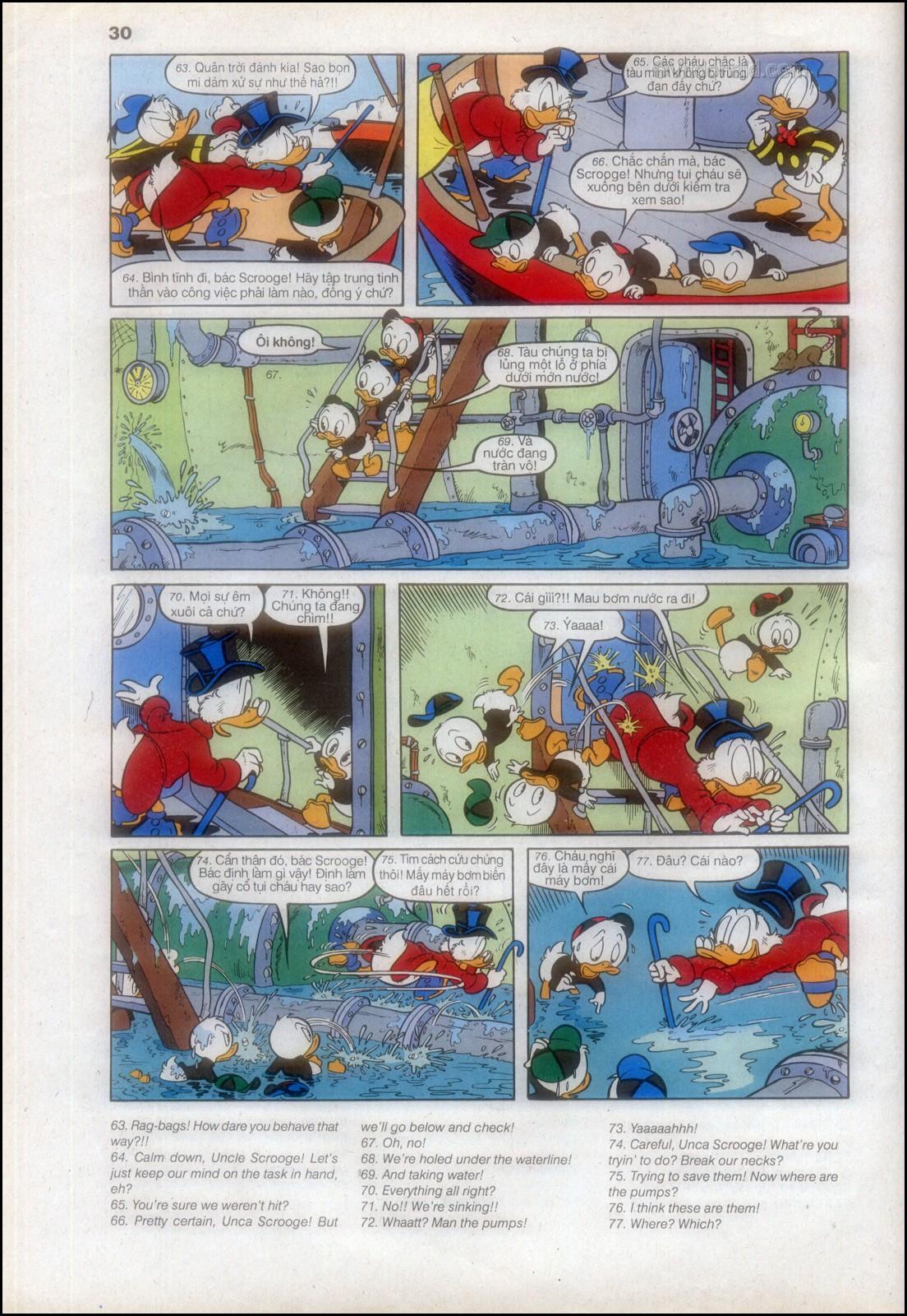 Donald và bạn hữu chap 82 - Trang 32