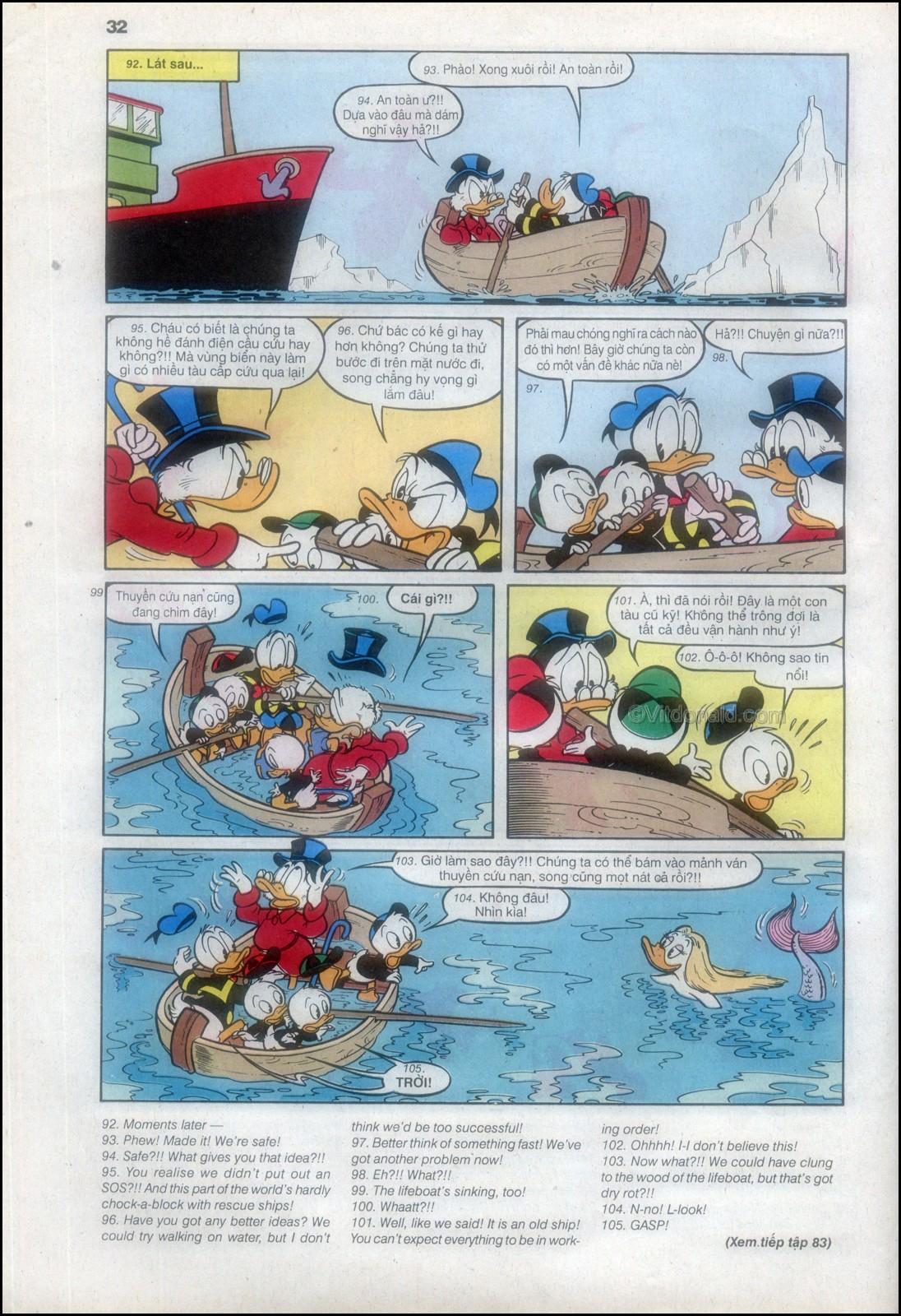 Donald và bạn hữu chap 82 - Trang 34