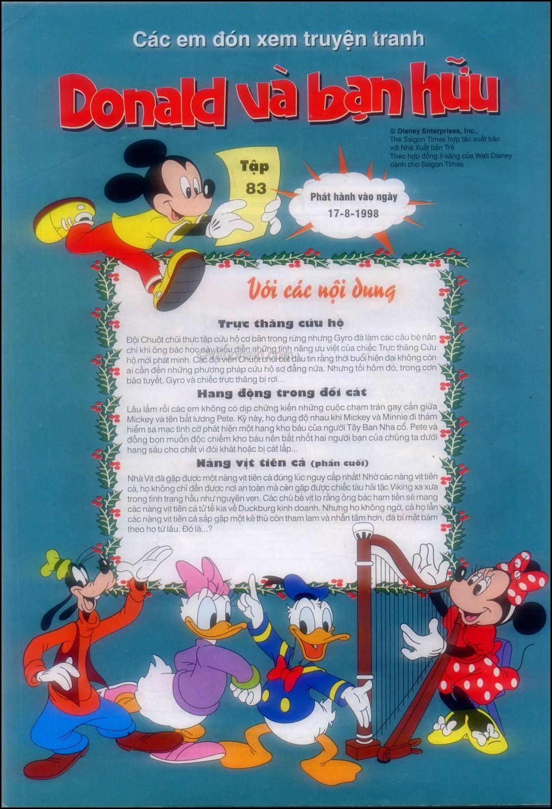 Donald và bạn hữu chap 82 - Trang 36
