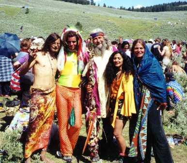 hippie kledingstijl