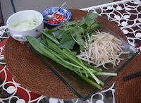 Légumes Pho au poulet