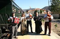 Café Portugal - PASSEIO DE JORNALISTAS em Alijó - Comboio Histórico