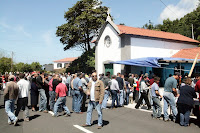 Café Portugal - PASSEIO DE JORNALISTAS nos Açores - São Jorge - Função de Santa Rita