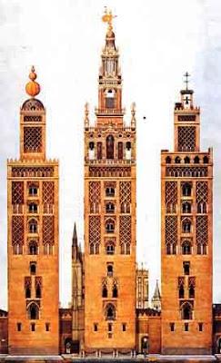 La giralda la belleza de una torre especial ense arte - Carpinteros en sevilla ...