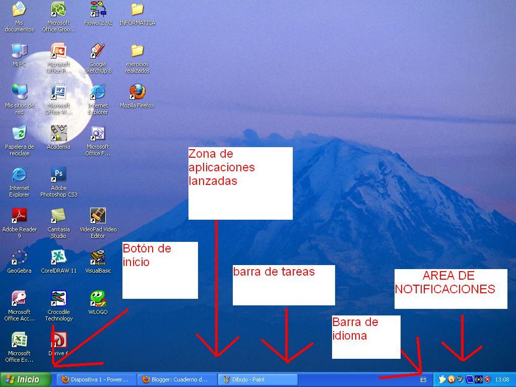herramientas de trabajo en windows: