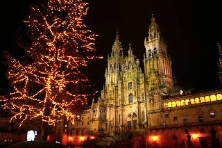 大聖堂の夜景