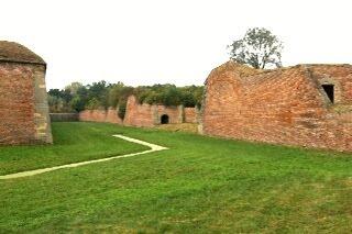 テレジーン小要塞の堀