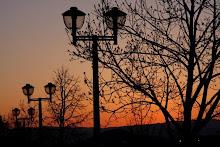 Va Tech sunset