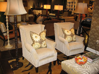San Simeon Chairs In Edwin Cream Shown With Celestial Rosettes Pillows,  Both From Barclay Butera Home For Hearst Castle Collection