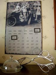 Keittiön kalenteri