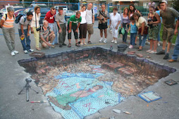 Pavement Art - Mosaic