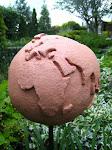 Jordklot av keramik