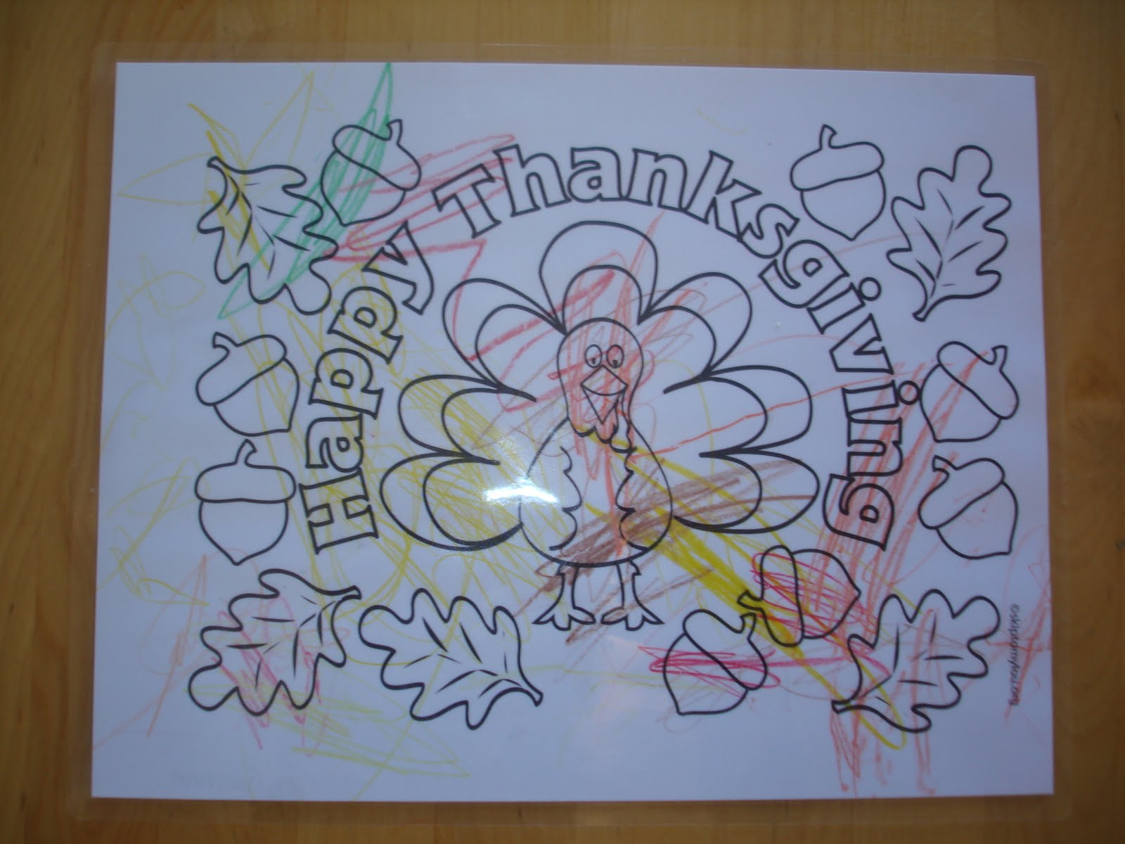 Displaying 18> Images For - Printable Thanksgiving Placemats...