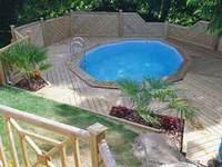 achat piscine bois discount