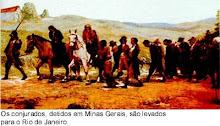 Conjurados presos em Minas Gerais