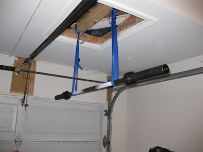 Trinity Training Group: EXPERIMENT: Garage Pullup Bar (AKA ...