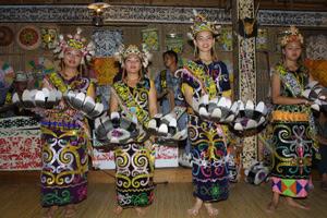 Gawai Dayak, Sarawak, Malaysia