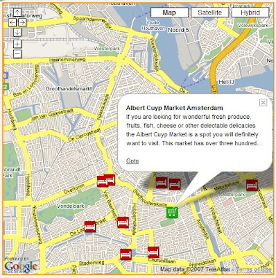 Amsterdam Hotels Easy Map Search