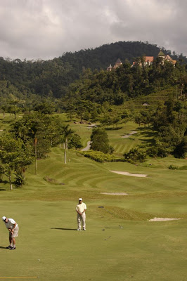 Golf course, Pahang, Malaysia