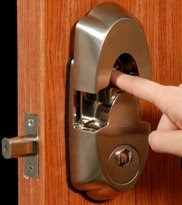 keyless biometric fingerprint deadbolt