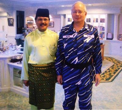 Syed Rahman and Najib Abdul Razak