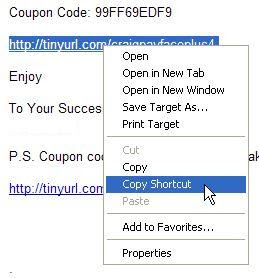 screenshot right-click on hyperlink to copy URL
