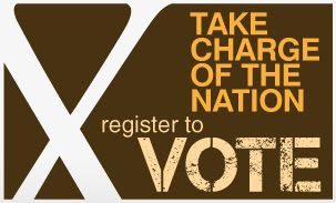 Take charge of the nation: Register to vote