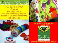 OFICINA: AVENTAL DE HISTÓRIA