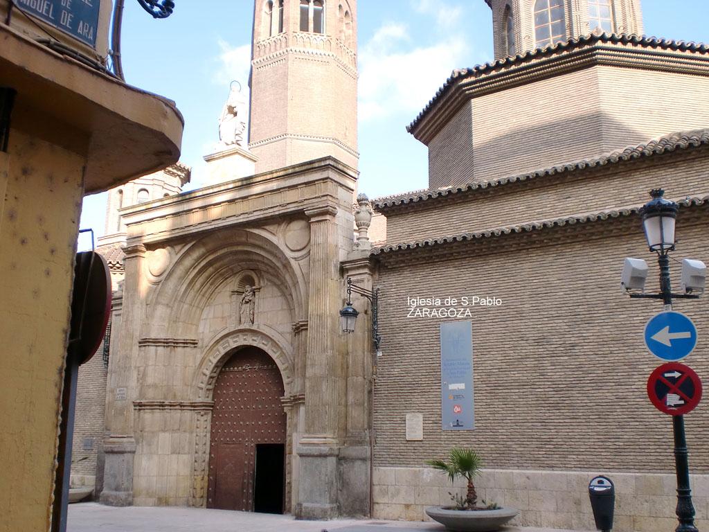República de Brulamia: IGLESIA DE SAN PABLO (ZARAGOZA)
