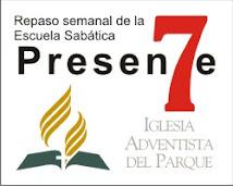 Escuela Sabática y predicaciones en la Iglesia del Parque