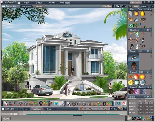 3d animation Free 3d building design software