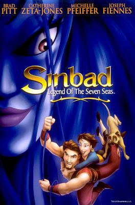 Filme Poster Sinbad - A Lenda dos Sete Mares DVDRip RMVB Dublado