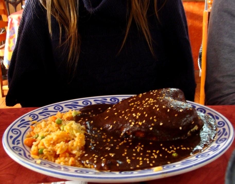 Mole de Pollo Mexicano Pollo Con Mole Poblano