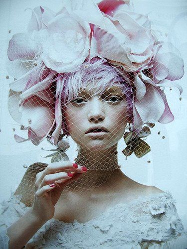 gemma ward photography. Vintage Photography: Take me