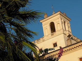 villa médicis, rome, rome en images, italie