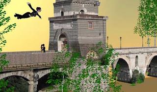 ponte milvio, second life, saint valentin, rome, rome en images, italie