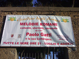 rome,rome en images, italie, jardin des orangers