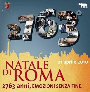 natale di roma, anniversaire de rome