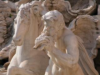 fontaine de trévi, rome, rome en images, italie