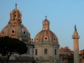Churches of rome, italy, in love with rome