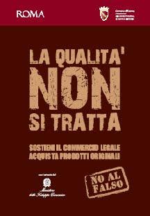 non aux faux, rome, italie