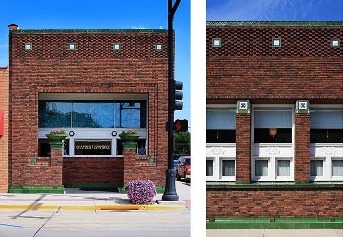 Front Elevation Texture : Dc aiga louis sullivan s architectural color texture and