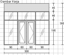 ingin menggunakan kusen aluminium atau pintu aluminium sebagai kusen